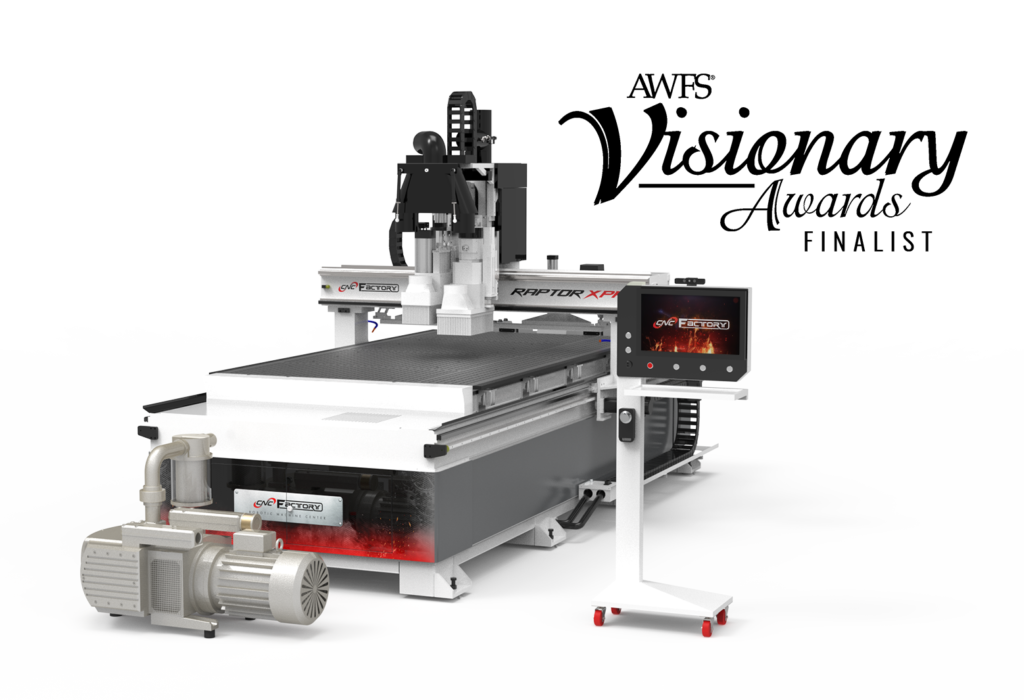 CNC Factory's XPR Series has been named Best CNC of 2020 by FDMC Magazine.