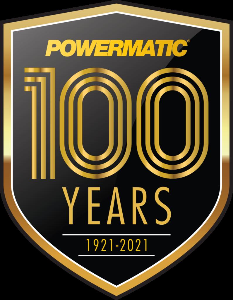 Powermatic 100 years seal