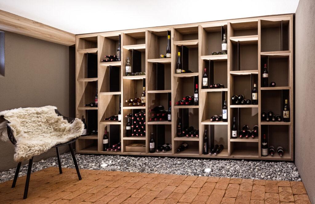 Ultimate floating wine shelf