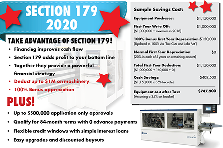 Take Advantage of Section 179!