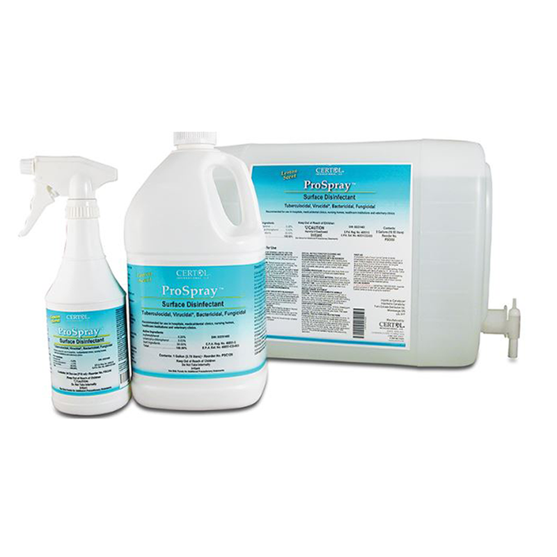 Disinfectants & Hand Sanitizers