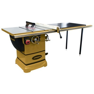 """Powermatic PM1000 1-3/4 1Ph Table Saw with 52"""" Accu-Fence System"""