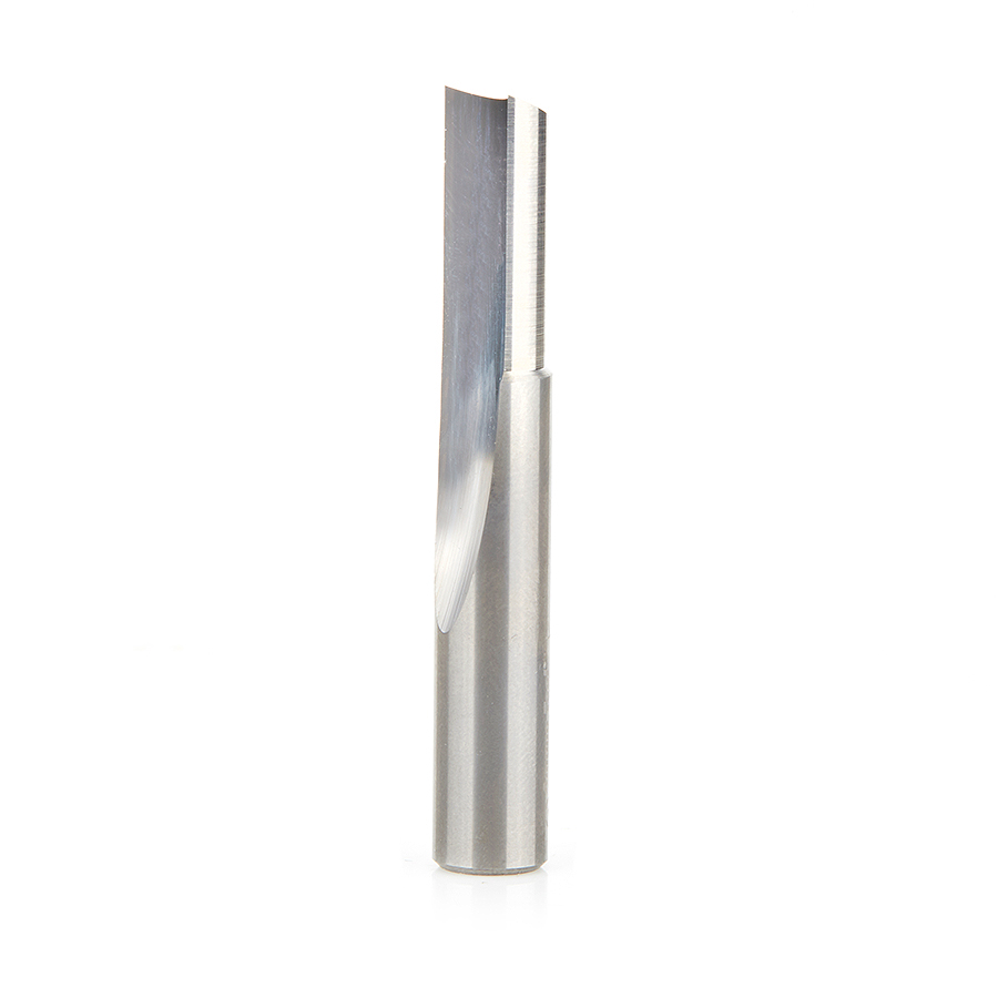 "Amana Tool 43518 Solid Carbide Single 'O' Flute Plastic Cutting 3/8"" Dia x 7/8""  x 3/8"" Shank"