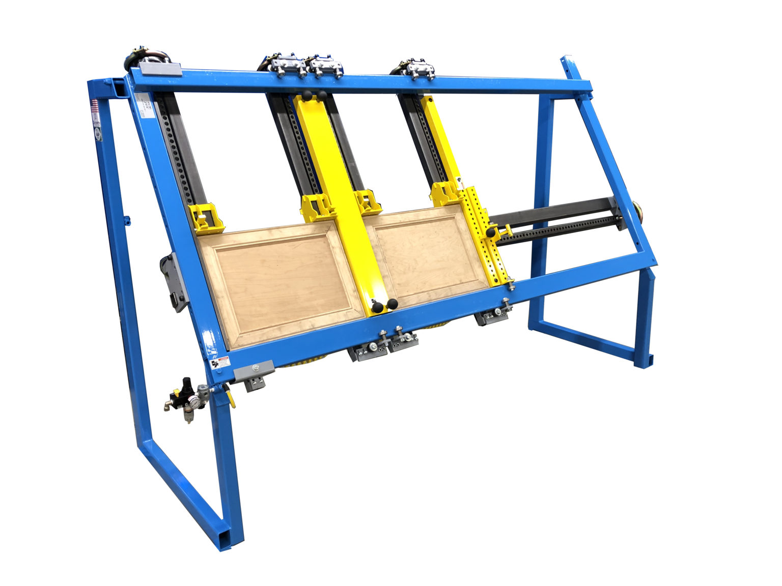 "JLT Clamp Double Miter Door #717A Door Clamp - 38"" X 96"" Capacity and A Center Squaring Bar"