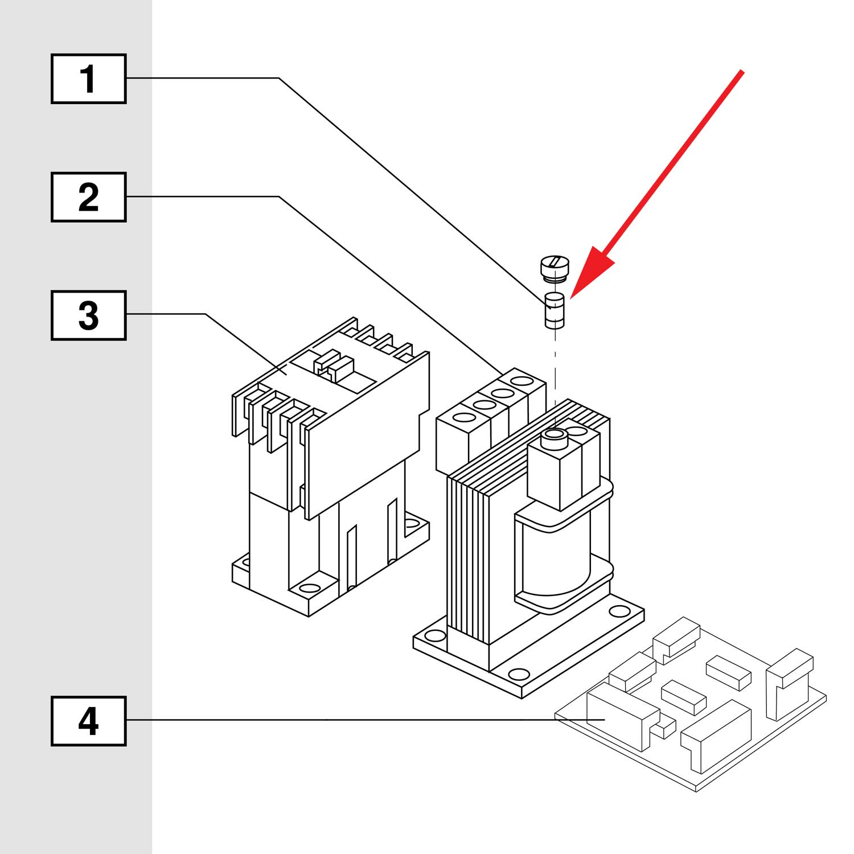 Blum Fuse for Transformer for M51N10XX MiniPress