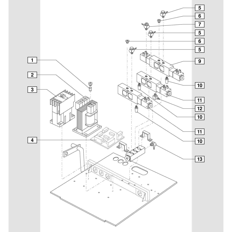 Blum Single Solenoid Valve for M51N10XX MiniPress