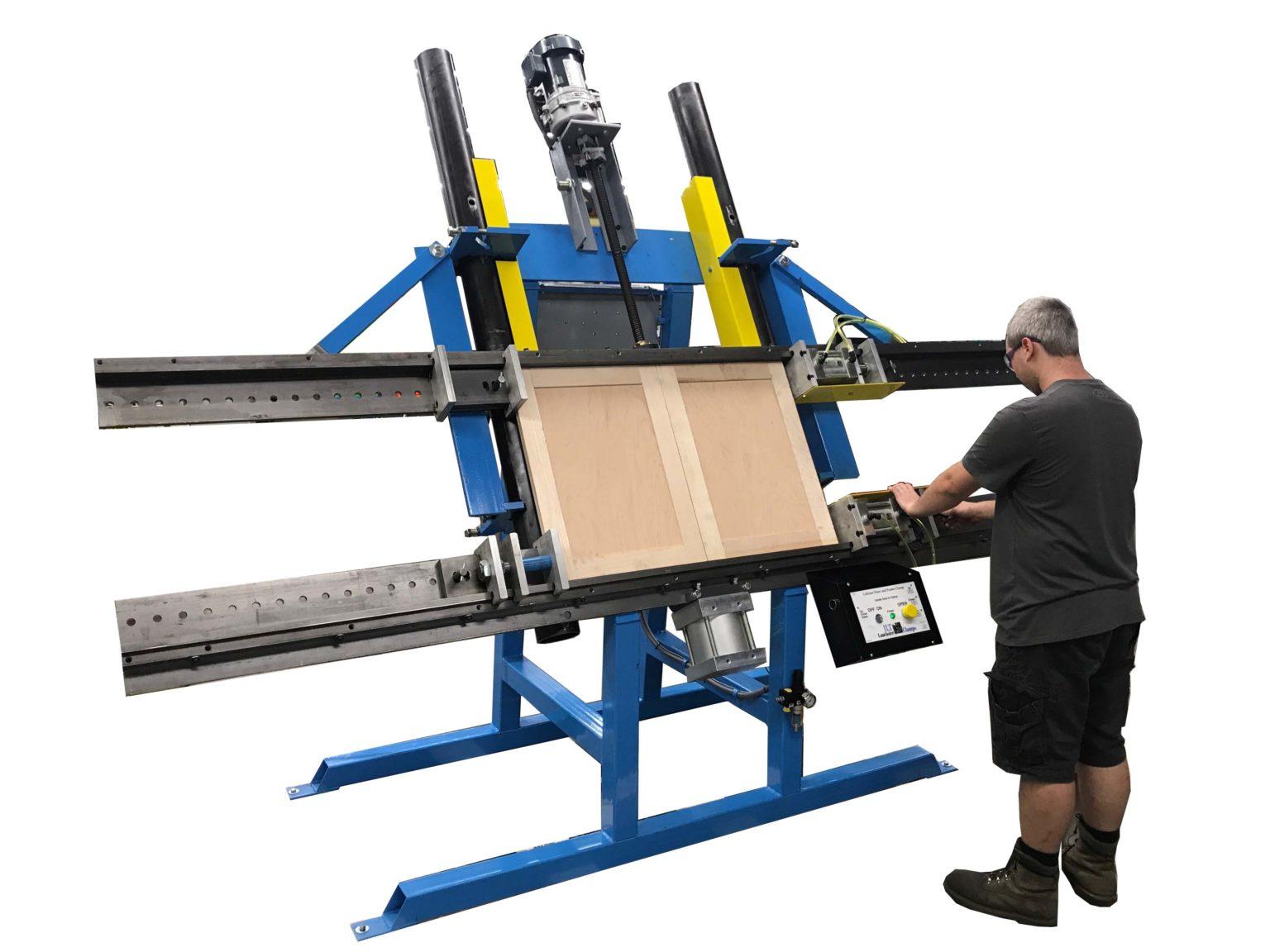 """JLT Clamp Pneumatic Cabinet Door & Frame Clamp 48""""V X 94""""H Maximum Capacity"""