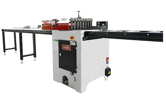 """Cantek PCS14.18 Optional Infeed/Outfeed 14"""" Rollers Conveyor for 14""""-18"""" Saws"""