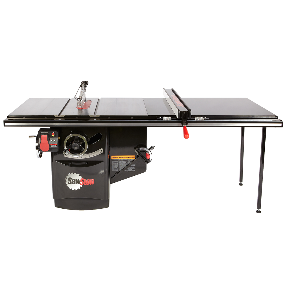 "SawStop ICS 10"" 52"" Table Saw with T-Glide Fence 3HP 1Ph 230V"
