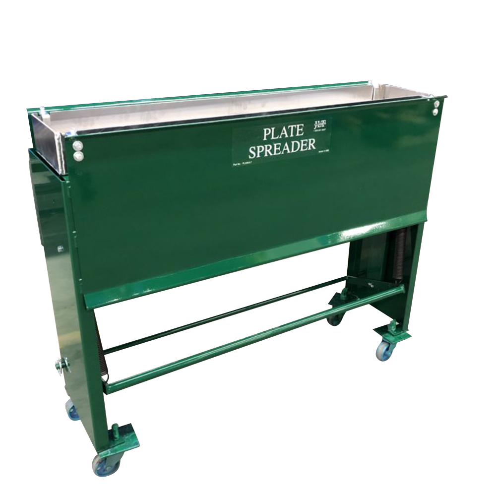 """JLT Clamp Plate Spreader - 8"""" X 48"""" Capacity Grid Style Application System"""