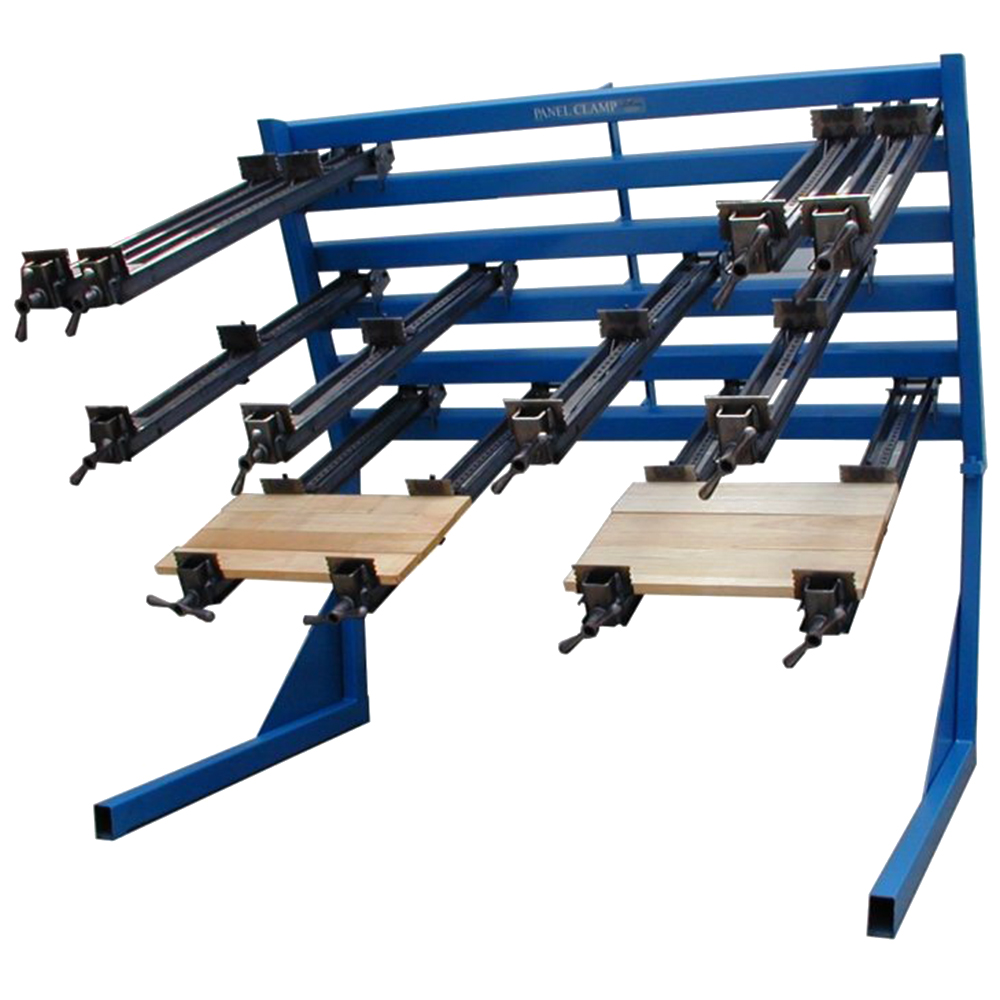 """JLT Clamp 6' Panel Clamp with (8) 3-1/2"""" High Jaw 40"""" Clamps"""