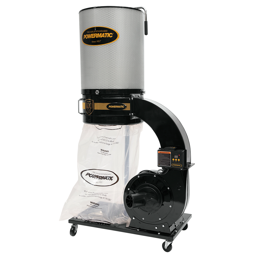 Powermatic PM1300TX-CKW 1.75Hp/1 Phase Dust Collector 2-Micron Canister Kit 100 Years Edition