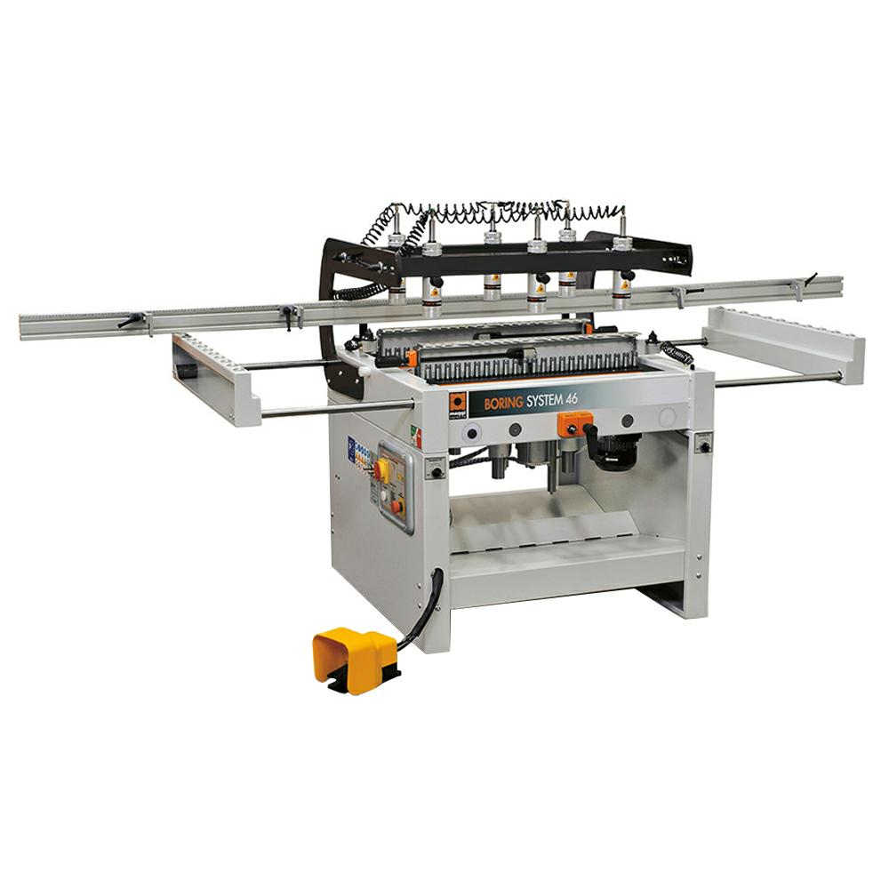Maggi System 46 Spindle Construction Boring Machine 3Ph