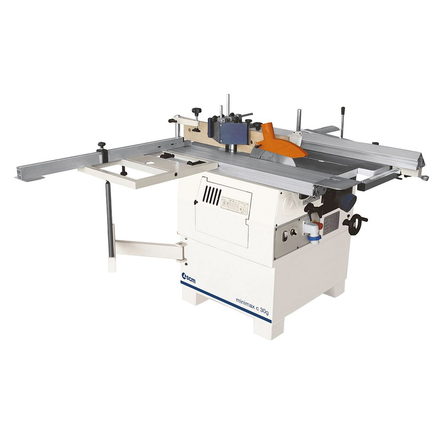 "SCM Minimax C 30GT 10"" Full Combination Machine with 3-Knife Tersa Cutter Head"
