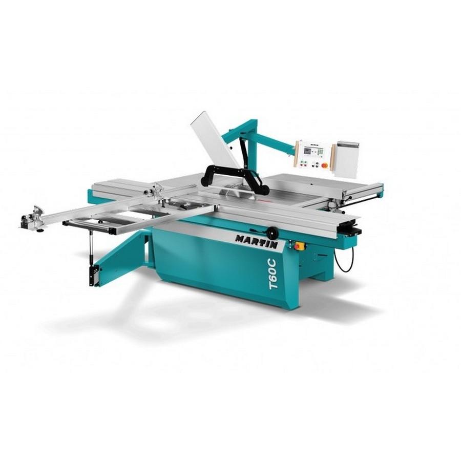 Martin Machines T60CA Premium Compact Sliding Table Saw with Auto Rip and Digital Fence
