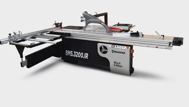 Maksiwa  BMS.3200.IR.3 Sliding Panel Saw 5 HP Three Phase 220/380V