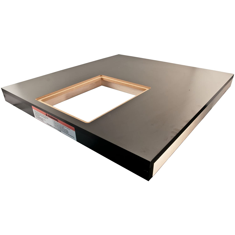 """Powermatic Wood Extension Table 30.5"""" X 33"""" with Router Cutout"""