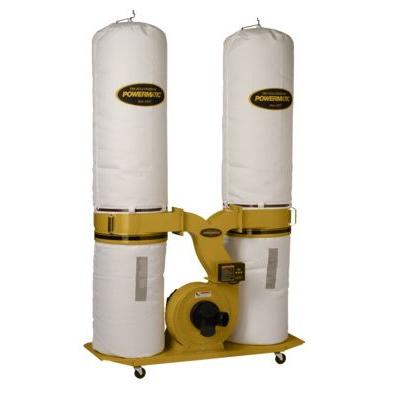 Powermatic PM1900TX-BK1 Dust Collector 3HP 1Ph 230V 30 Micron Bag Filter Kit
