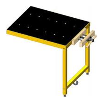 Powermatic PM2000B Accessory Workbench for Table Saw