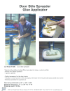 Door Stile Spreader Glue Applicator, Model LT160B