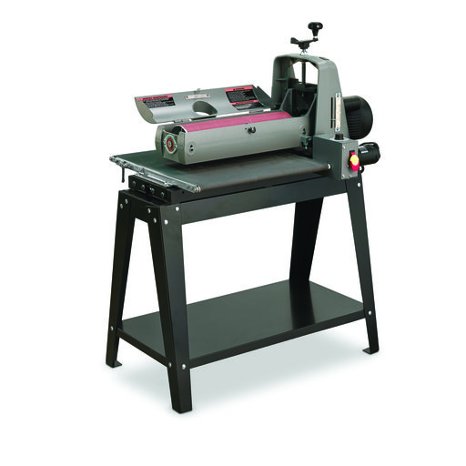 Supermax 19-38 Drum Sander 1.75 HP 110V  (Included - Infeed and outfeed tables)