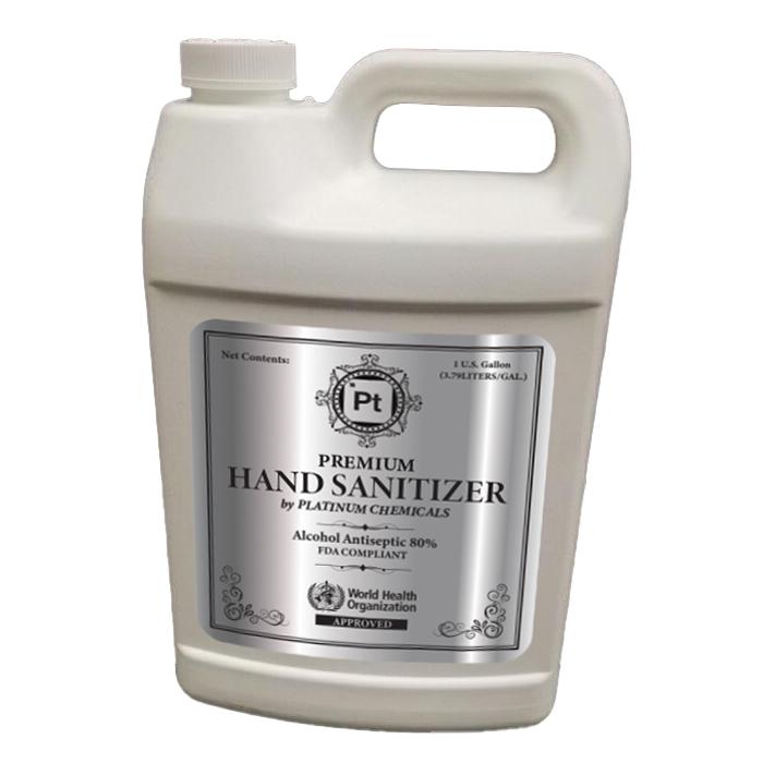 Anti-Bacterial Hand Sanitizer Liquid, 1 Gallon
