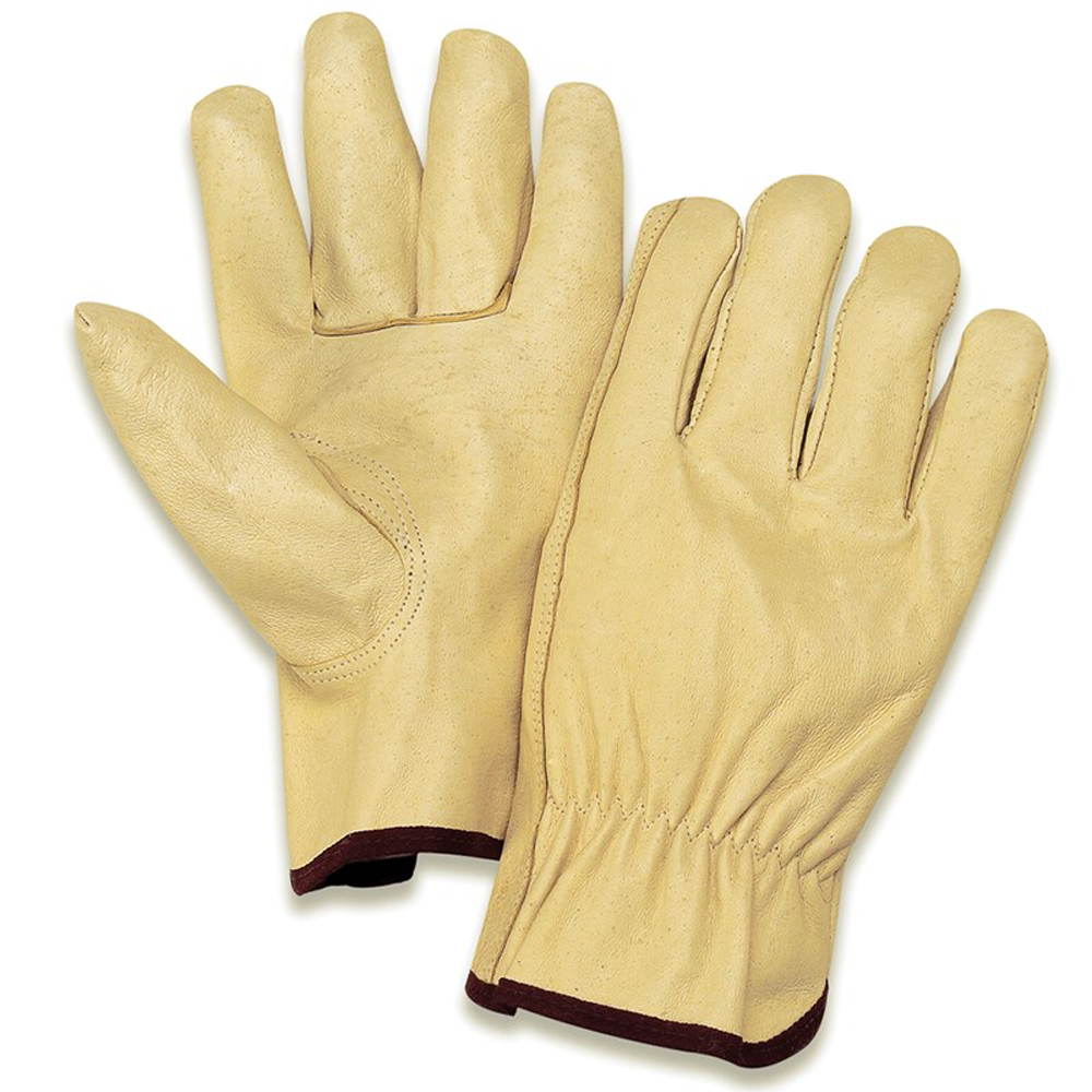 Pigskin Leather Driver's Gloves, 2X-Large