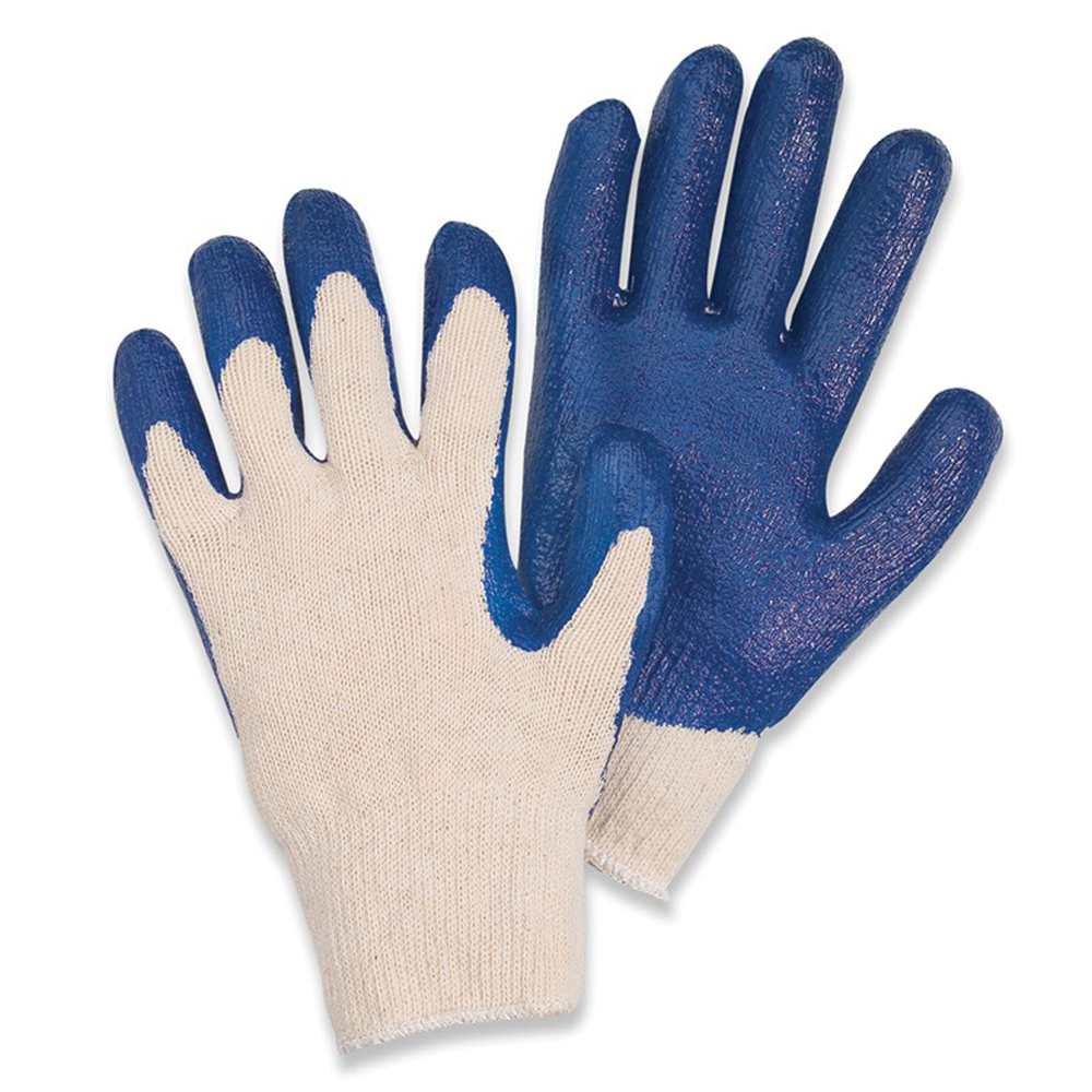 Performer® Rubber Coated String Knit Work Gloves, 2X-Large