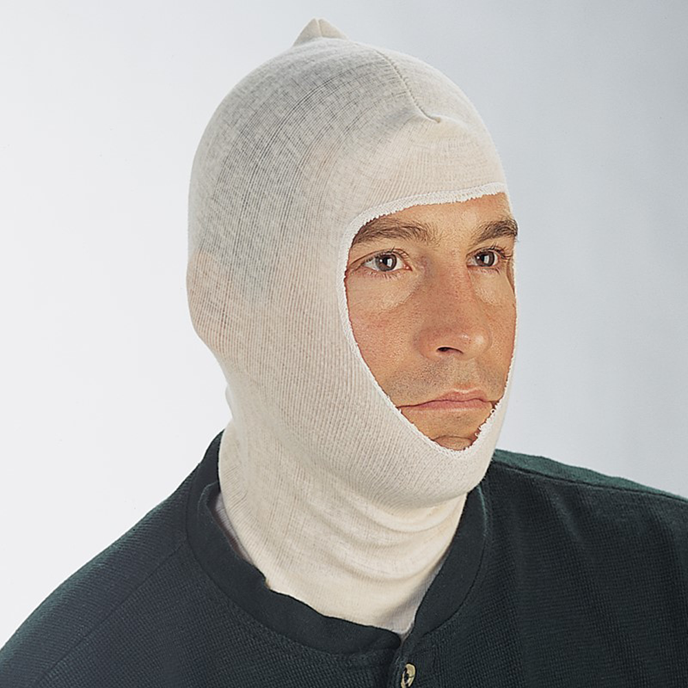 Cotton Head & Neck Cover Spray Socks, BAG/12