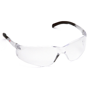 Fission Scratch Resistant Safety Glasses, Clear