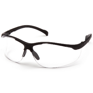 Kinetic Scratch Resistant Safety Glasses, Clear