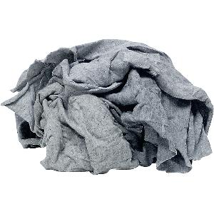 Shop Rags Gray Knit Cotton, 25 lbs