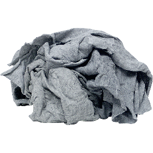 Shop Rags Gray Knit Cotton, 5 lbs