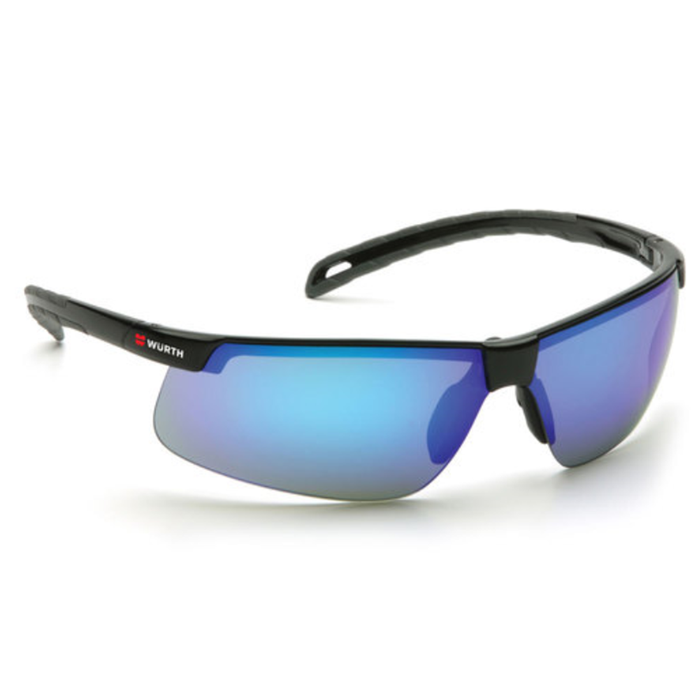 Element Safety Glasses, Ice Blue, Mirror